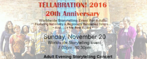 The 20th Tellabration Festival
