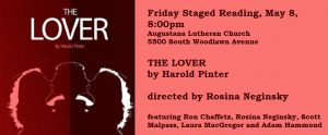 Friday Staged Reading: Harold Pinter, THE LOVER, directed by Rosina Neginsky, Friday May 5