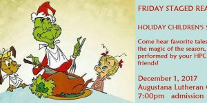 Friday Staged Reading–Holiday Children's Stories