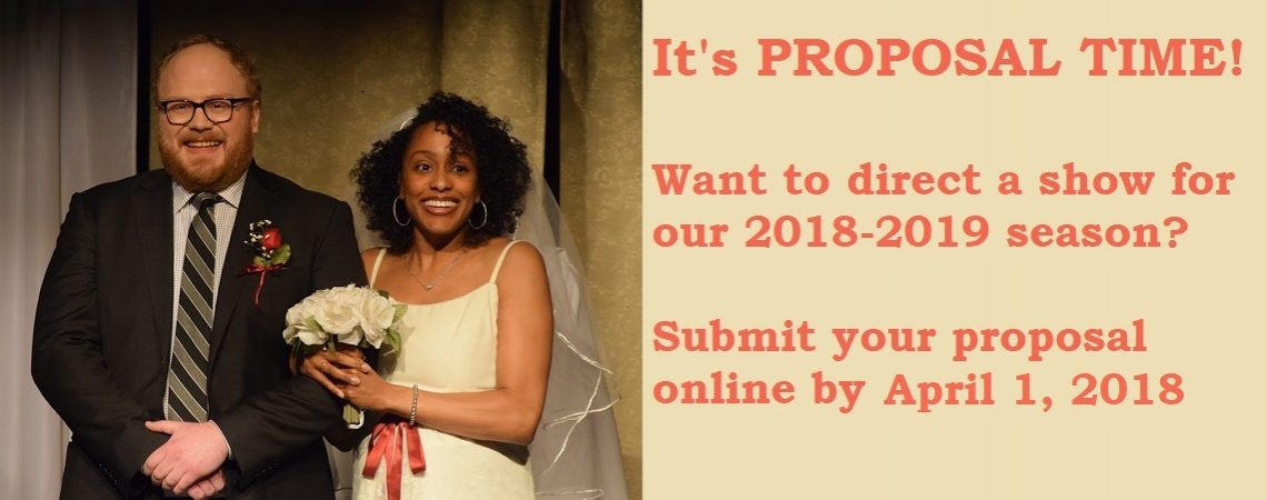 Propose a Show for 2018-2019