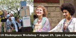 Getting Shakespeare Off the Shelf Workshop August 25–Register Now!