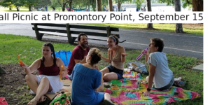 HPCP Fall Picnic at Promontory Point