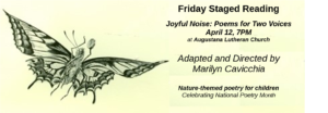 Friday Staged Reading Series:  Joyful Noise