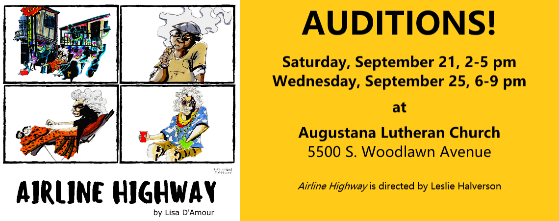 """Auditions for """"Airline Highway"""""""
