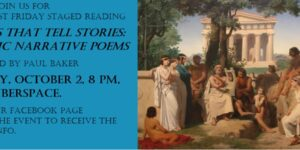 Friday Staged Reading: Poems That Tell Stories: Classic Narrative Poems