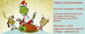 Friday Staged Reading: Holiday Children's Stories