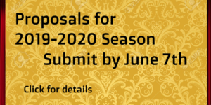 Proposals for the 2019-20 Season