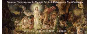 """A Midsummer Night's Dream"" Cast"