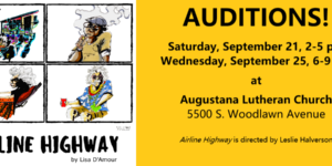 "Auditions for ""Airline Highway"""